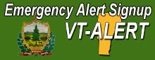 Emergency Alert Signup VT-Alert